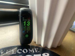 酸素濃度計測付き時計