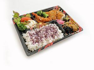 岡山産森林鶏の鉄板焼弁当