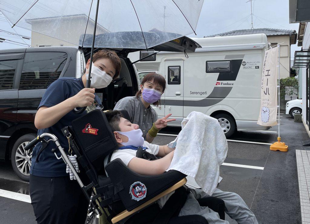 訪問看護ステーション エール キャンピングカー